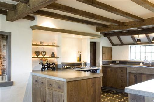 Bourgondisch kruis rustieke bouwmaterialen realisaties keuken