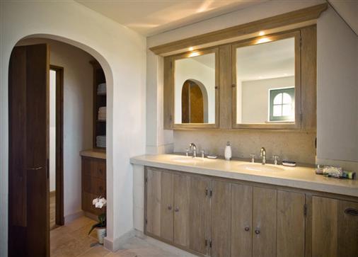 Bourgondisch kruis rustieke bouwmaterialen realisaties badkamer