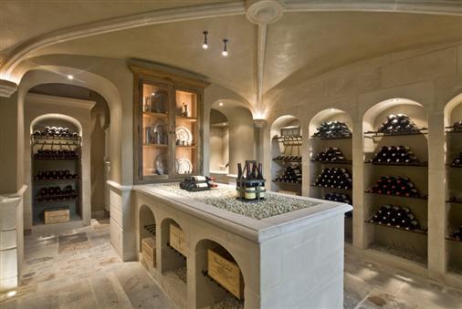 Bourgondisch Kruis   Rustieke bouwmaterialen   Realisaties   Wijnkelder